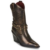 鞋子 女士 短靴 Bronx NEW KOLE 黑色 / 金色