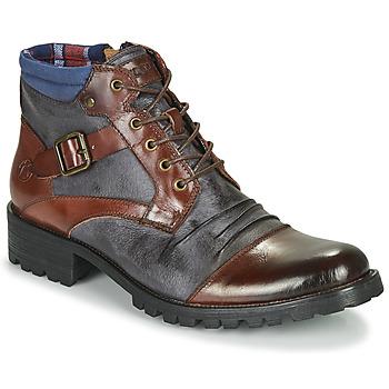 鞋子 男士 短筒靴 Kdopa SLASH 驼色 / 蓝色