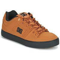 鞋子 男士 球鞋基本款 DC Shoes PURE WNT 棕色