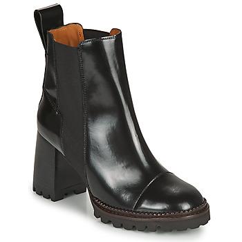 鞋子 女士 短靴 See by Chloé TRINIDAD 黑色