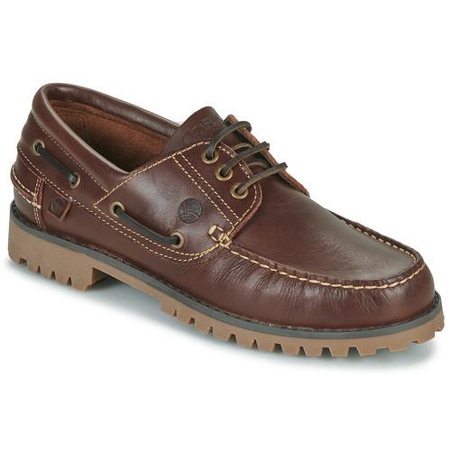 鞋子 男士 船鞋 Casual Attitude EVEROA 棕色