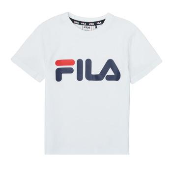 衣服 儿童 短袖体恤 Fila LEA 白色