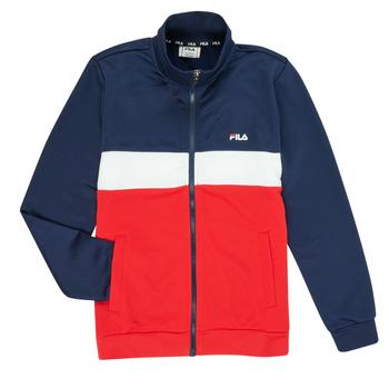 衣服 男孩 运动款外套 Fila MANOLO 海蓝色 / 白色 / 红色