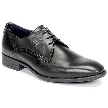 鞋子 男士 德比 Fluchos 富乐驰 LUKE 黑色