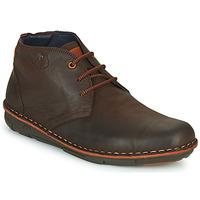 鞋子 男士 短筒靴 Fluchos 富乐驰 ALFA 棕色