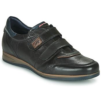 鞋子 男士 球鞋基本款 Fluchos 富乐驰 DANIEL 黑色