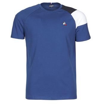 衣服 男士 短袖体恤 Le Coq Sportif 乐卡克 ESS TEE SS N°10 M 蓝色