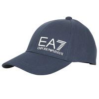 纺织配件 男士 鸭舌帽 EA7 EMPORIO ARMANI TRAIN CORE ID M LOGO CAP 海蓝色