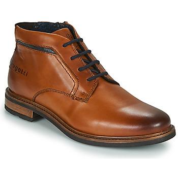 鞋子 男士 短筒靴 Bugatti NELS 棕色