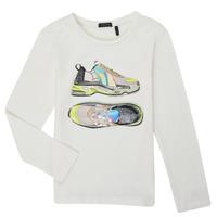 衣服 女孩 长袖T恤 Ikks XR10172 白色