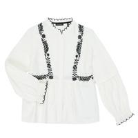 衣服 女孩 衬衣/长袖衬衫 Ikks XR12022 白色