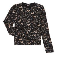 衣服 女孩 长袖T恤 Ikks XR12052 黑色