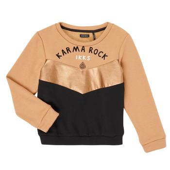 衣服 女孩 卫衣 Ikks XR15012 棕色
