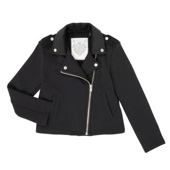 衣服 女孩 羊毛开衫 Ikks XR17002 黑色