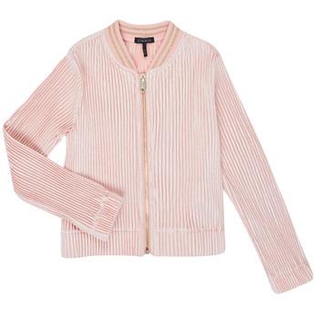 衣服 女孩 羊毛开衫 Ikks XR17022 玫瑰色