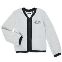 衣服 女孩 羊毛开衫 Ikks XR17062 灰色