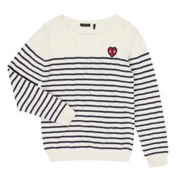 衣服 女孩 羊毛衫 Ikks XR18032 白色