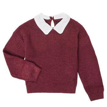 衣服 女孩 羊毛衫 Ikks XR18062 紫罗兰
