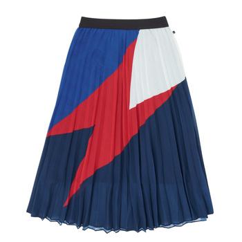 衣服 女孩 半身裙 Ikks XR27052 蓝色