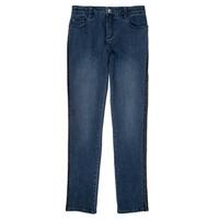 衣服 女孩 紧身牛仔裤 Ikks XR29062 蓝色
