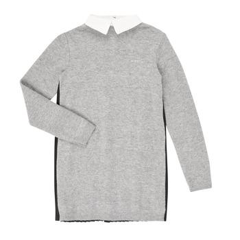 衣服 女孩 短裙 Ikks XR30082 灰色