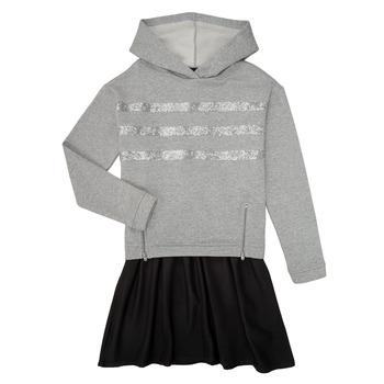 衣服 女孩 短裙 Ikks XR30112 灰色