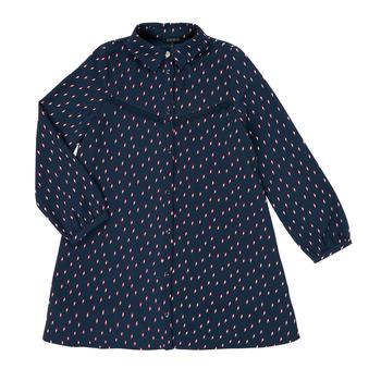 衣服 女孩 短裙 Ikks XR30152 蓝色