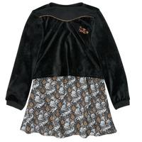 衣服 女孩 短裙 Ikks XR30162 黑色