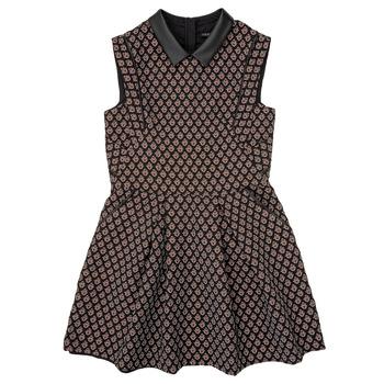 衣服 女孩 短裙 Ikks XR30212 黑色