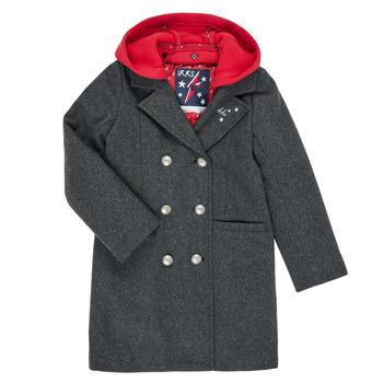 衣服 女孩 大衣 Ikks XR44012 灰色