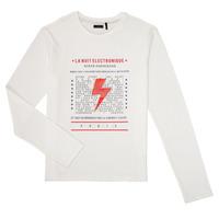 衣服 男孩 长袖T恤 Ikks XR10023 白色