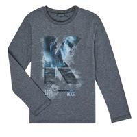 衣服 男孩 长袖T恤 Ikks XR10203 灰色