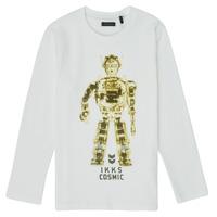 衣服 男孩 长袖T恤 Ikks XR10233 白色