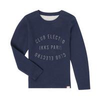衣服 男孩 羊毛衫 Ikks XR18003 蓝色