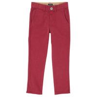 衣服 男孩 多口袋裤子 Ikks XR22093 红色