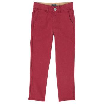 衣服 男孩 多口袋裤子 Ikks XR22093J 红色