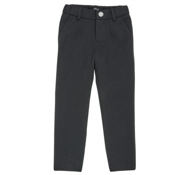 衣服 男孩 多口袋裤子 Ikks XR23023 黑色