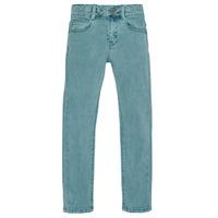 衣服 男孩 紧身牛仔裤 Ikks XR29013 绿色