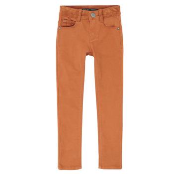 衣服 男孩 紧身牛仔裤 Ikks XR29013 棕色