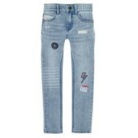 衣服 男孩 紧身牛仔裤 Ikks XR29053 蓝色