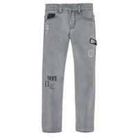 衣服 男孩 紧身牛仔裤 Ikks XR29123 灰色