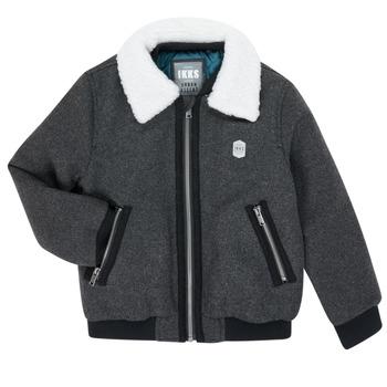 衣服 男孩 夹克 Ikks XR40083 灰色