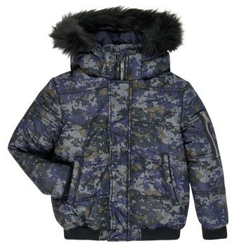 衣服 男孩 羽绒服 Ikks XR41133 蓝色