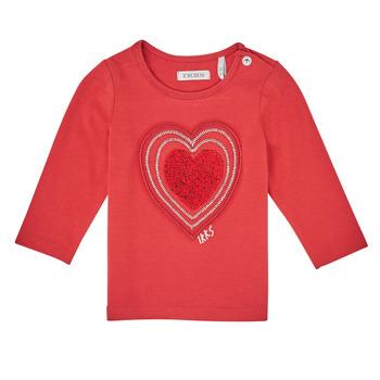 衣服 女孩 长袖T恤 Ikks XR10010 橙色