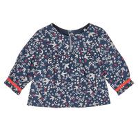 衣服 女孩 衬衣/长袖衬衫 Ikks XR12010 蓝色