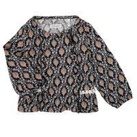 衣服 女孩 衬衣/长袖衬衫 Ikks XR12020 黑色