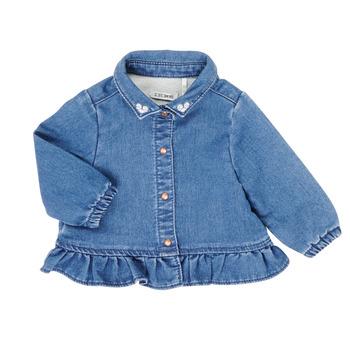 衣服 女孩 衬衣/长袖衬衫 Ikks XR12030 蓝色