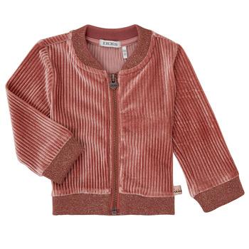 衣服 女孩 羊毛开衫 Ikks XR17030 玫瑰色