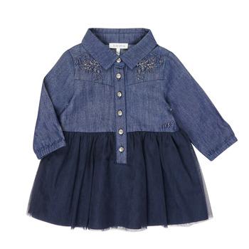 衣服 女孩 短裙 Ikks XR30150 蓝色