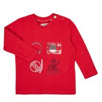 衣服 男孩 长袖T恤 Ikks XR10011 红色